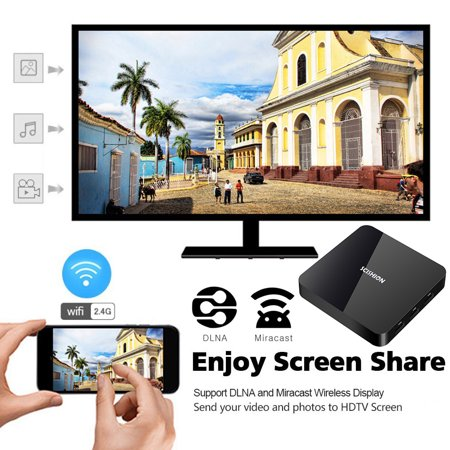 SCISHION AI TWO Smart Android 9.0 RK3328 Quad-core UHD 4K VP9 H.265 4GB+32GB 2.4G Wi-Fi BT4.0 HD LED Display Screen Video Player - image 3 de 6