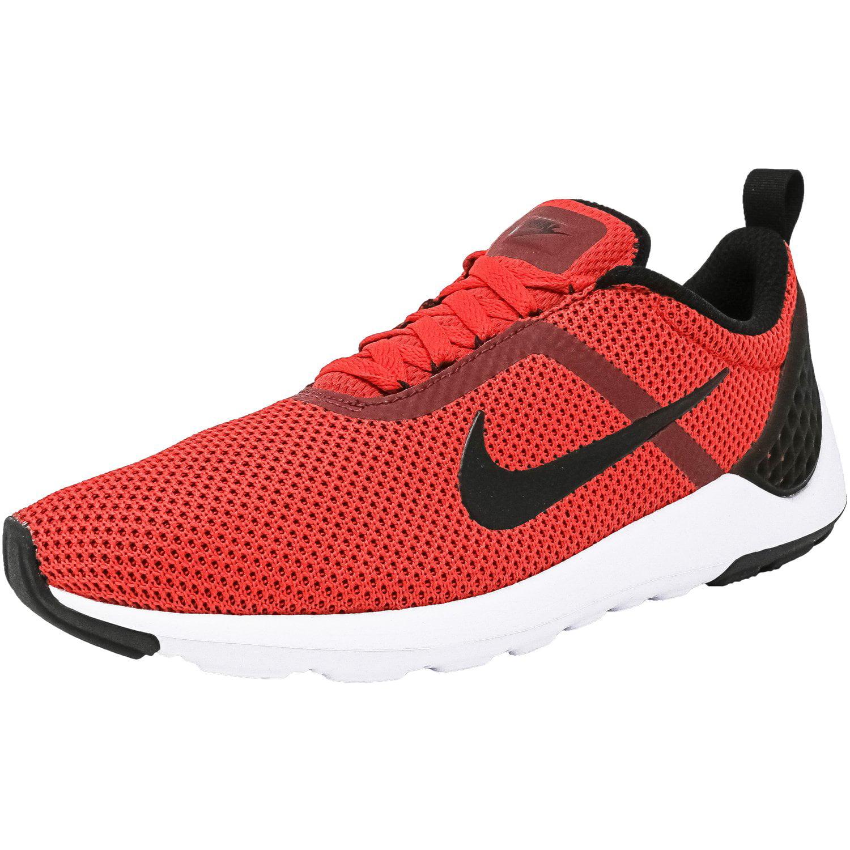 Nike Men's Lunarestoa 2 Essential University Red / Black-Team Red-White Fabric Running Shoe - 8M