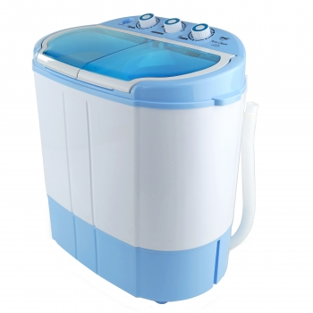 Pyle Compact & Portable Washer & Dryer, Mini Washing Machine and Spin...