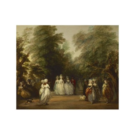 The Mall in St. James's Park, Ca. 1783 Print Wall Art By Thomas Gainsborough