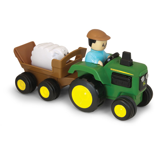 John Deere Pull and Go Tractor by TOMY
