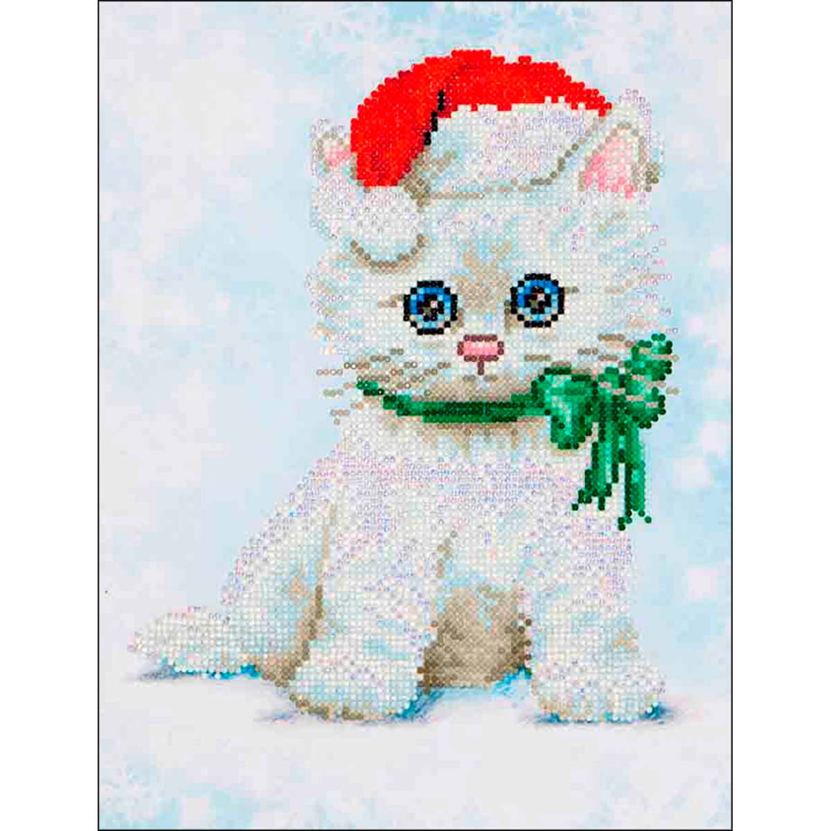"Diamond Dotz Diamond Embroidery Facet Art Kit 12.75""X15.75""-Chrissy Kitty"