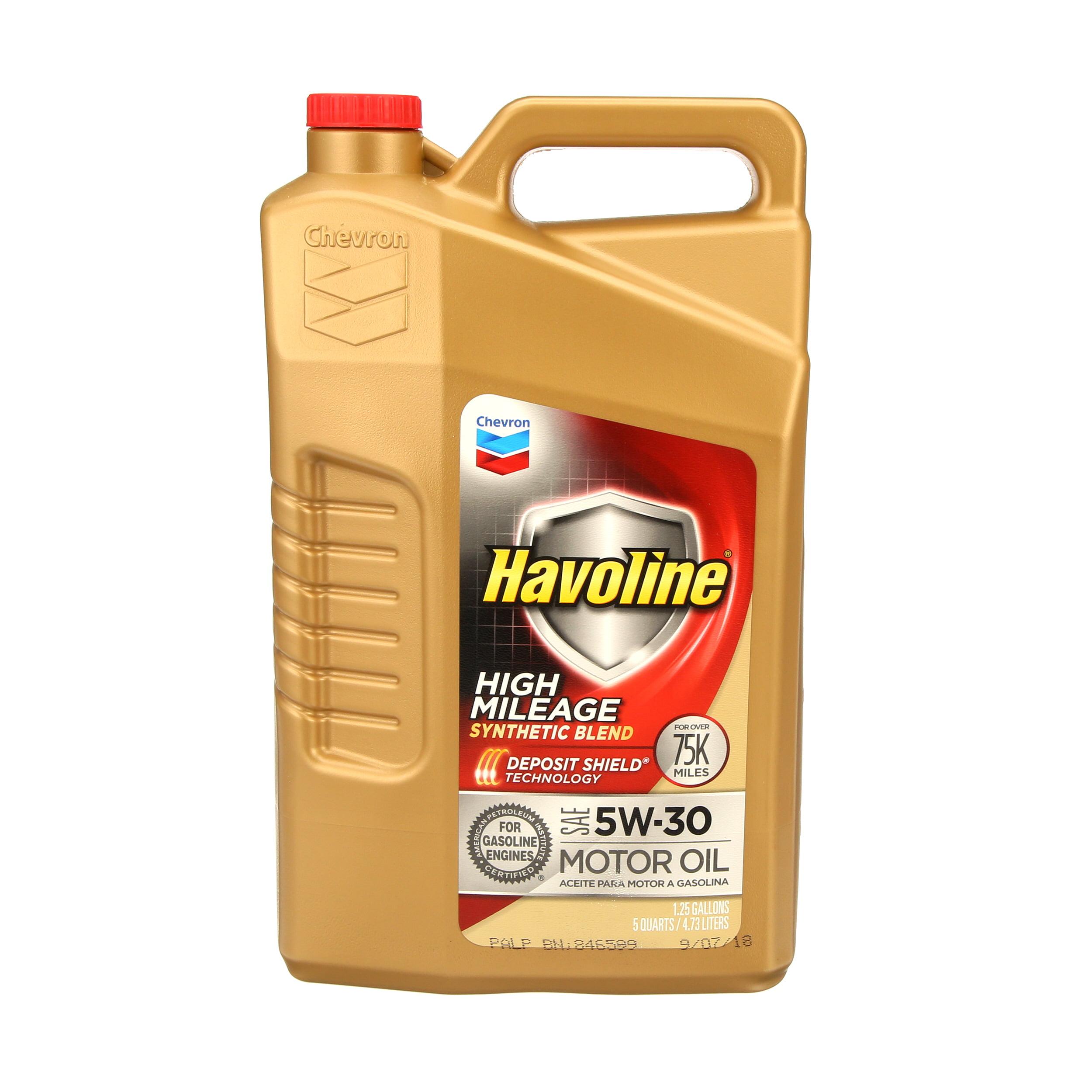 Havoline Himi Motor Oil 5W30, 5 qt - Walmart com