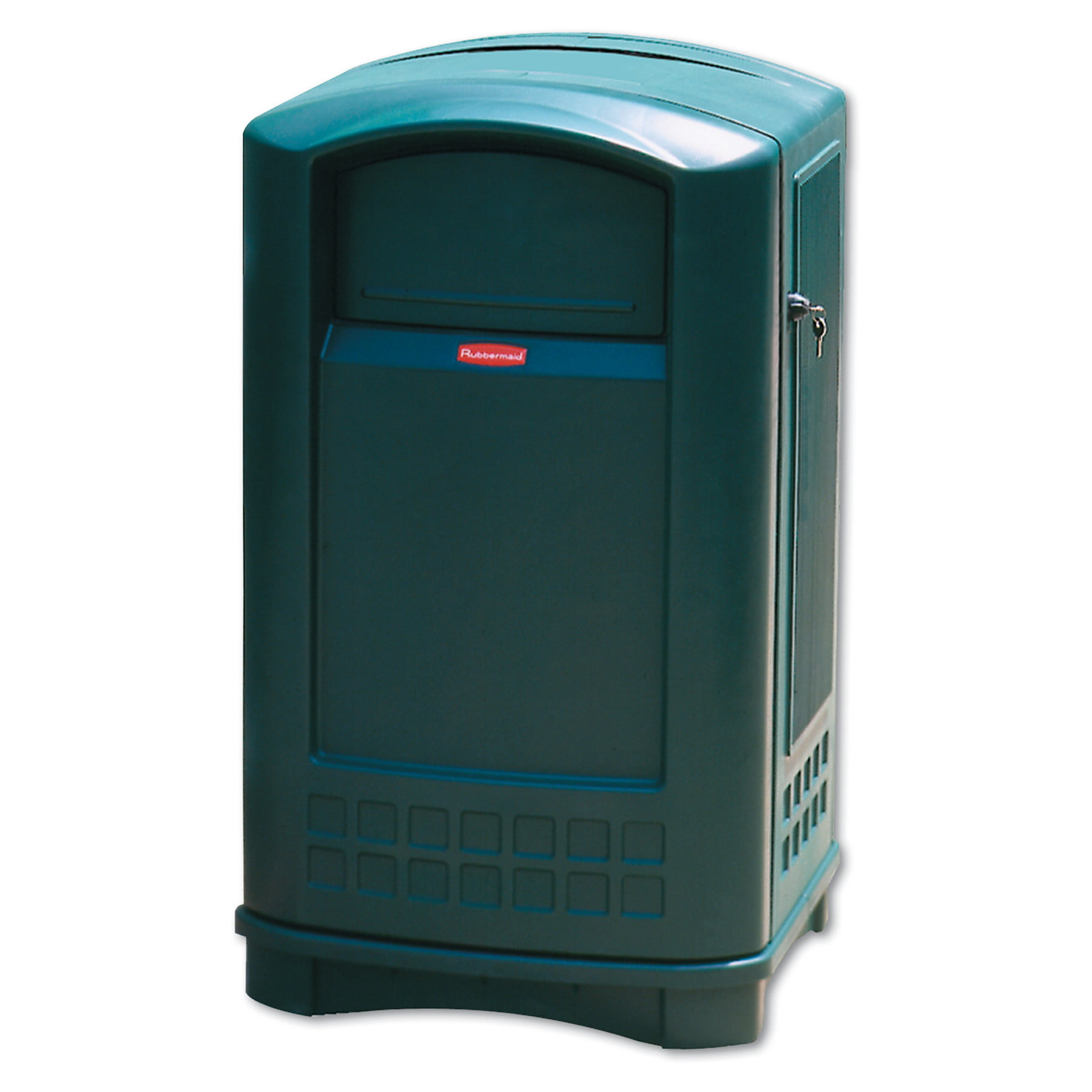 Rubbermaid Commercial Plaza Indoor/Outdoor Waste Container