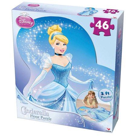 Cinderella 46 Piece Floor Puzzle Disney Princess By