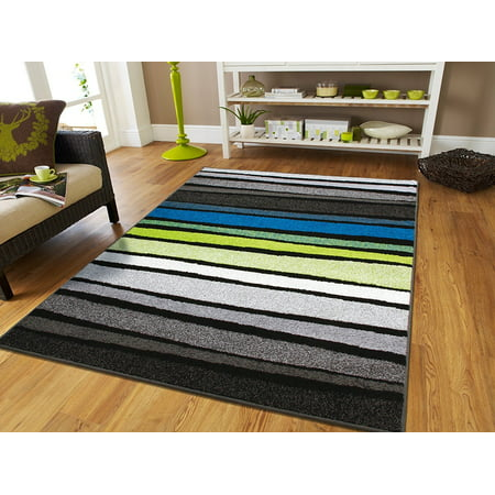 Contemporary rugs 8x10 area rug on clearance 8x11 rugs for - Black and white living room rug ...