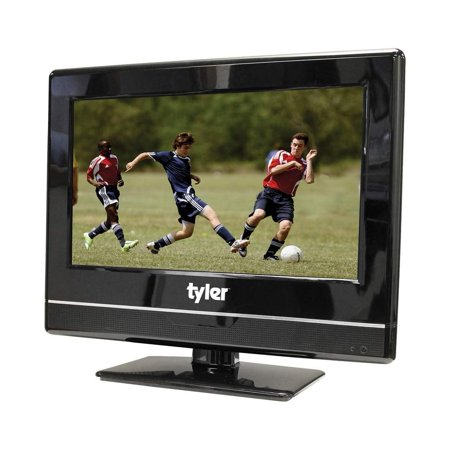 Tyler 13.3-Inch 1080P Digital LED Widescreen TV with Full HD Support, HDMI, HDTV, USB Input, PC Input, Monitor and AC/DC Power Adapter