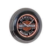 Harley-Davidson Genuine Oil Can Orange Neon Clock HDL-16617, Harley Davidson