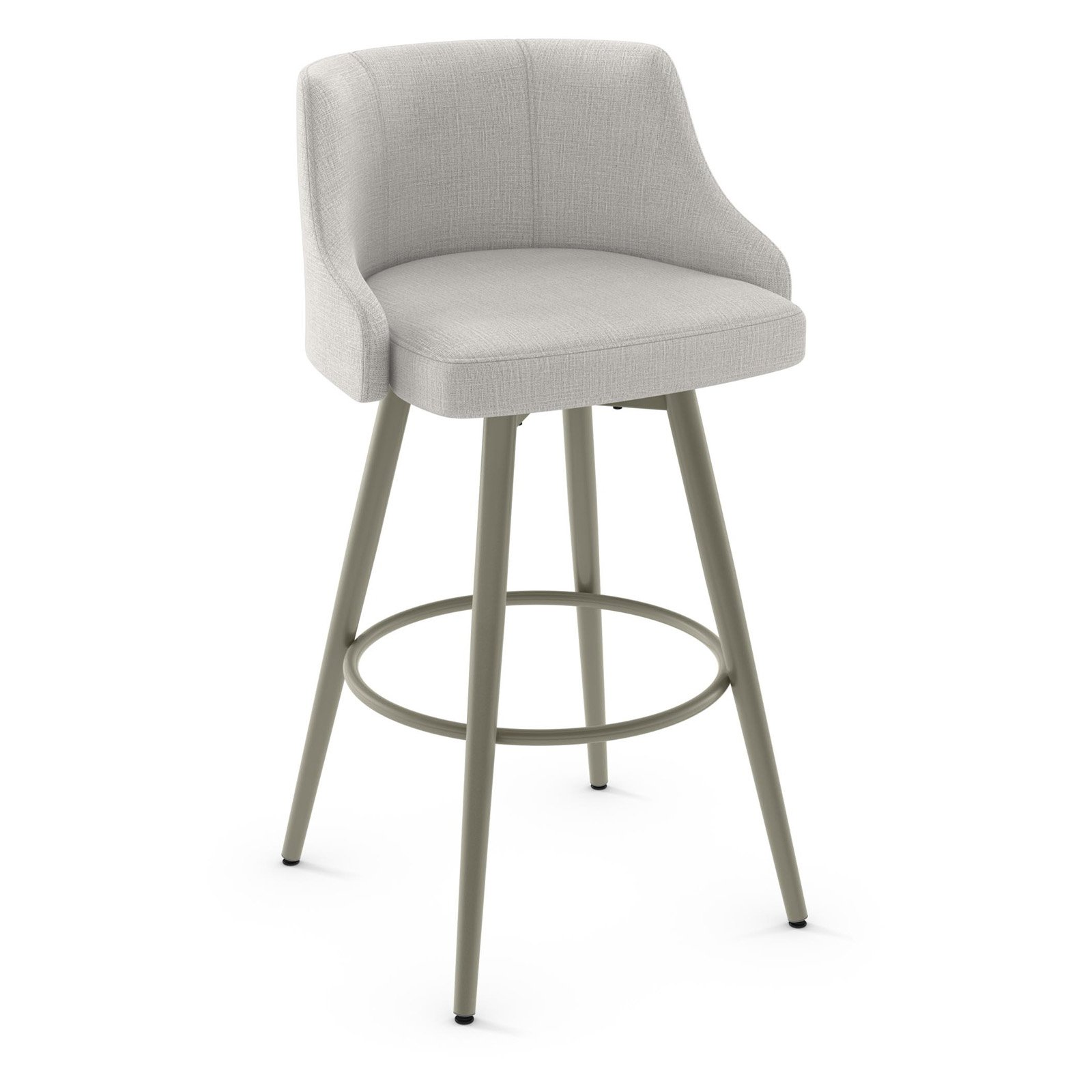 Amisco Duncan 32 In Metal Swivel Bar Stool Walmartcom