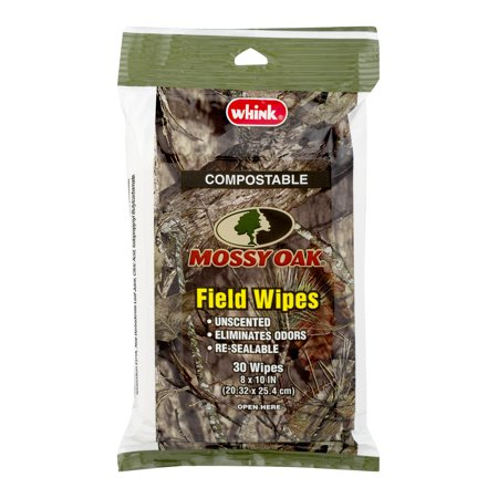 Whink Mossy Oak Field Wipes 30 ct