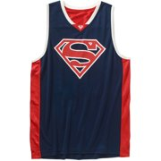 Superman Men's Graphic Licensed Basketball Jersey