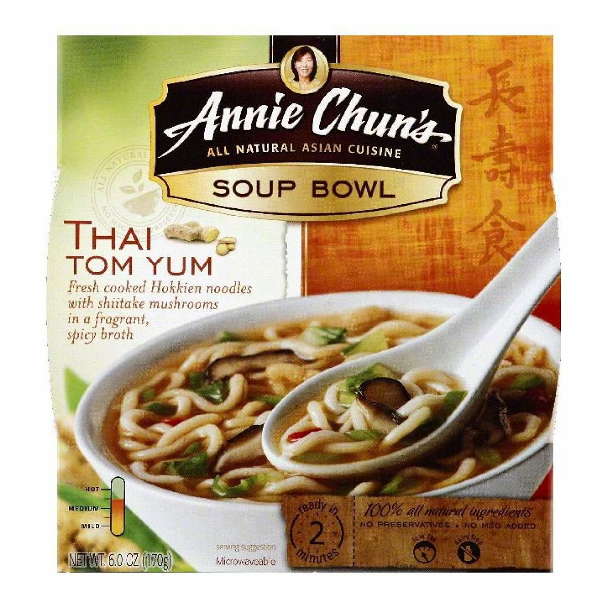 Annie Chun's Tom Yum Soup Bowl 5.9 Ounce