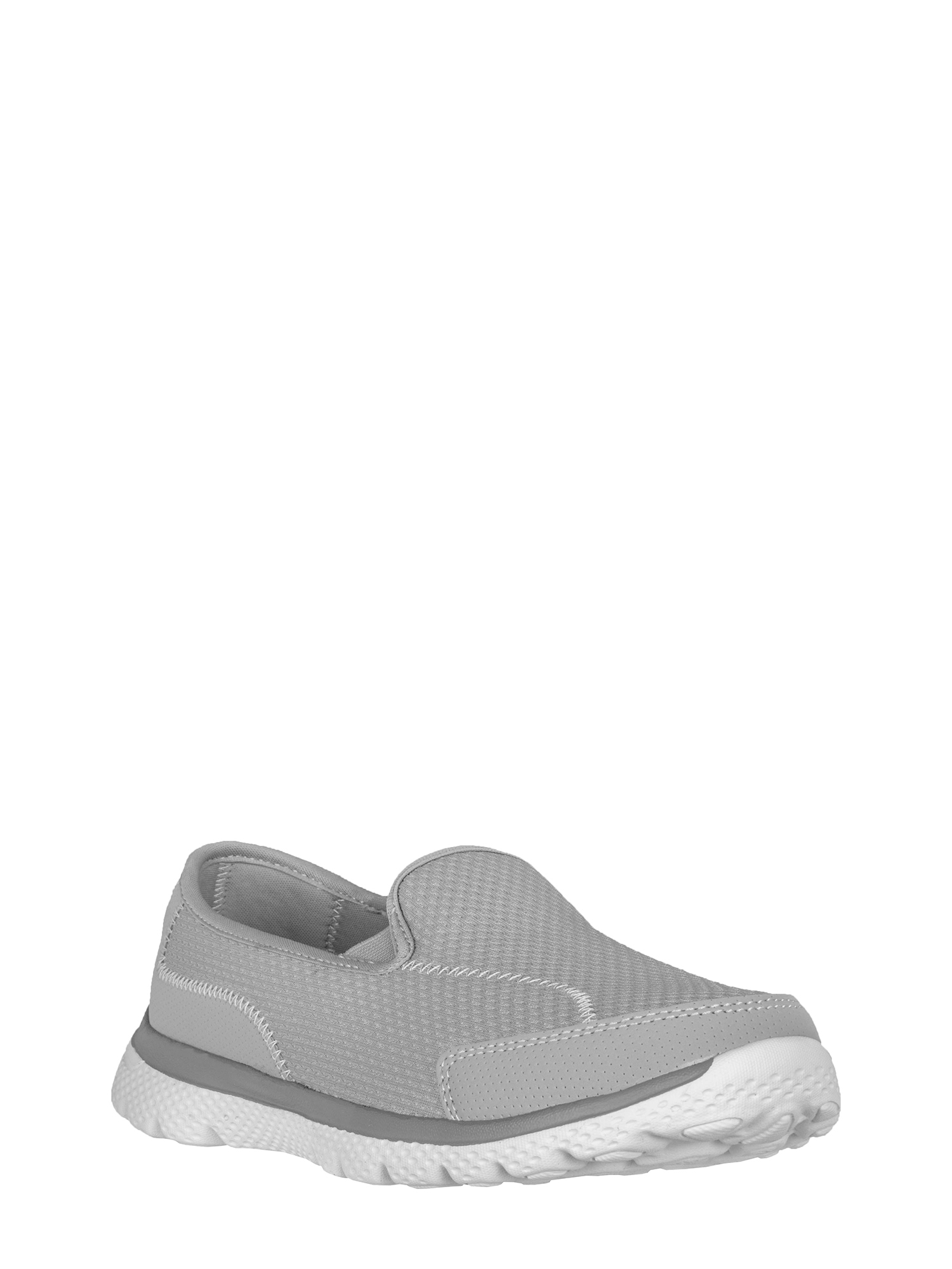 Athletic Works Women's Medium and Wide Width Knit Slip on Shoe
