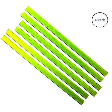 3 Pc Set of Neon Yellow or Orange Magnetic Strips For Floor, Wall, Or Metal Sign