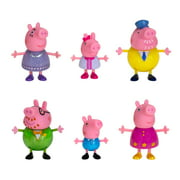 Peppa Pig's Fancy Family 6 Figure Pack