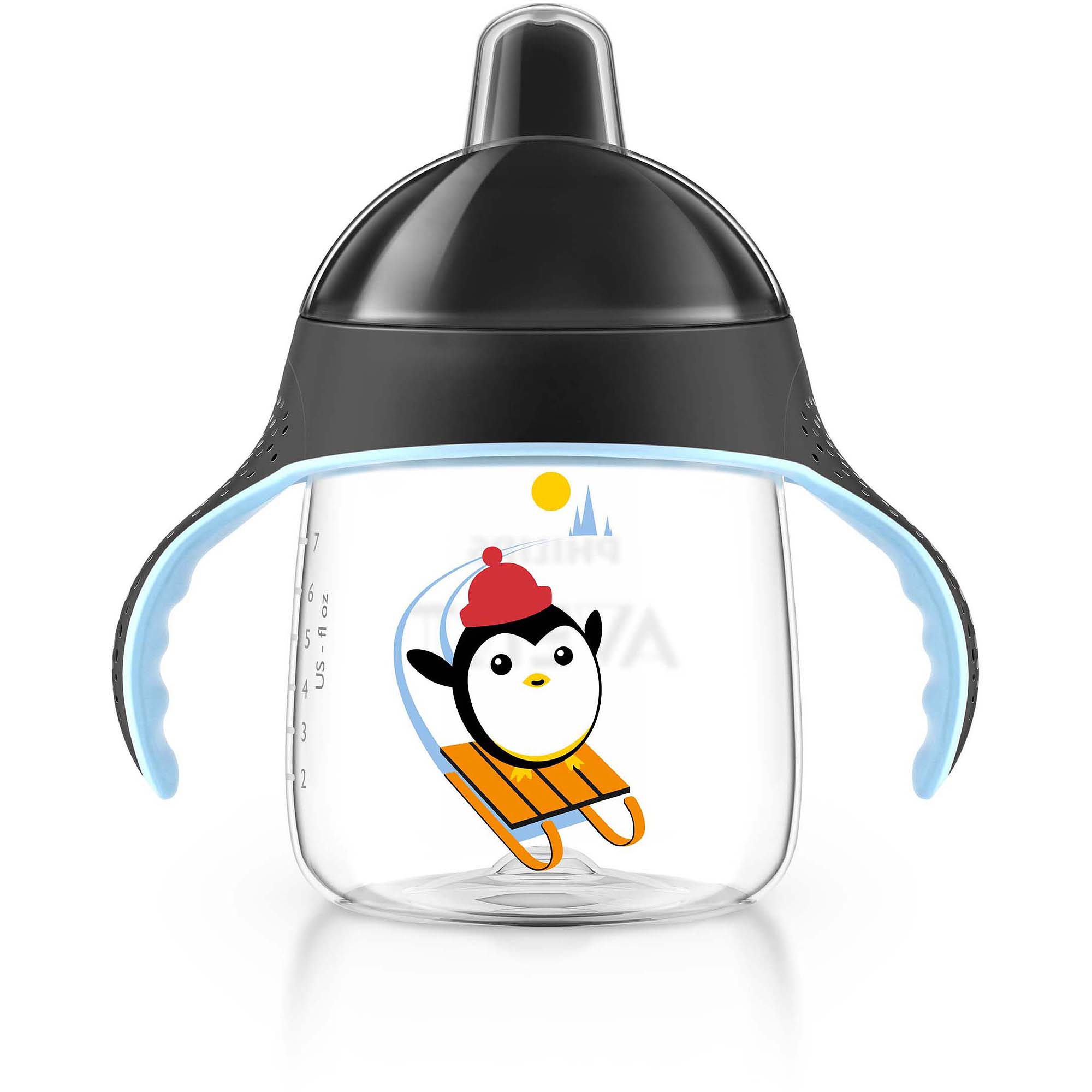 Philips AVENT My Penguin 9 oz Seasonal Winter Sippy Cup, BPA-Free