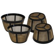 Crucial Replacement Basket Coffee Filter (Set of 4)