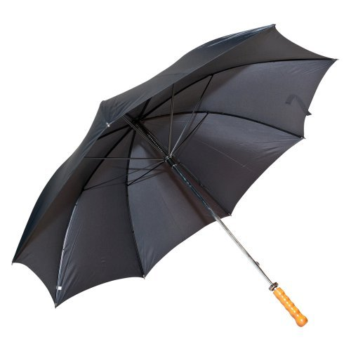 Elite Rain Frankford 2988-SH Classic Black Doorman Umbrella with Straight Handle