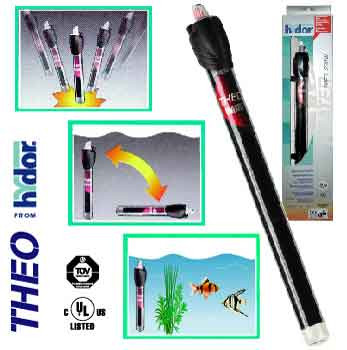 Hydor Theo Aquarium Heater, 200 Watts