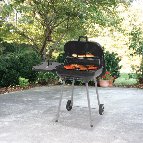 Genial Backyard Grill Deluxe Square Charcoal Grill