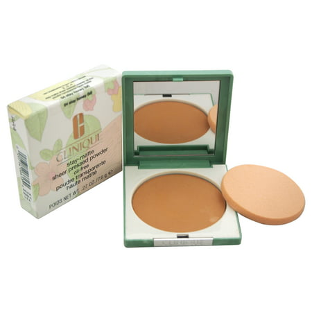 Stay-Matte Sheer Pressed Powder - 04 Stay Honey M - Dry Combination To Oily by Clinique for Women -