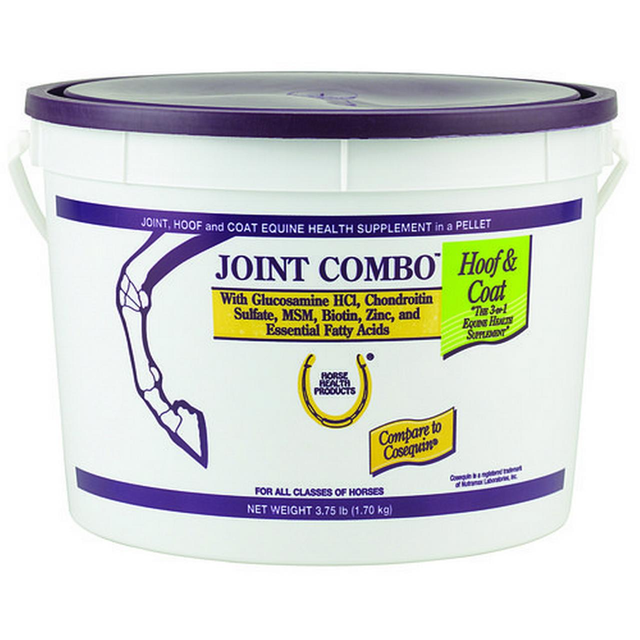 FARNAM HOME & GARDEN Joint Combo Hoof & Coat Pellets With Glucosamine HCI & Chondroitin Sulfate, 3.75-Lbs.