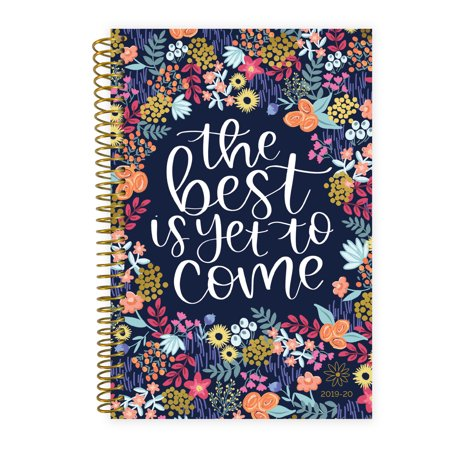 2019-20 Soft Cover Daily Planner, The Best is Yet to Come - bloom daily