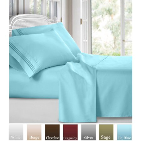 Ruthy S Textile Bed Sheet Set Hotel Luxury Brushed Microfiber 1800 Bedding Wrinkle Fade Stain Resistant Hypoallergenic Soft Deep Pockets Sheets