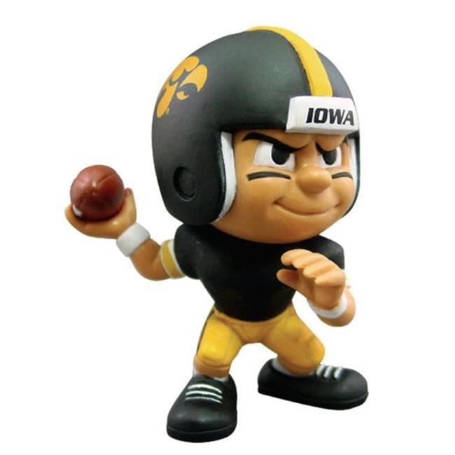 Party Animal PAR-LQ2IA Iowa Hawkeyes NCAA Lil Teammates Vinyl Quarterback Sports Figure - 2 3-4 Tall - Series 2