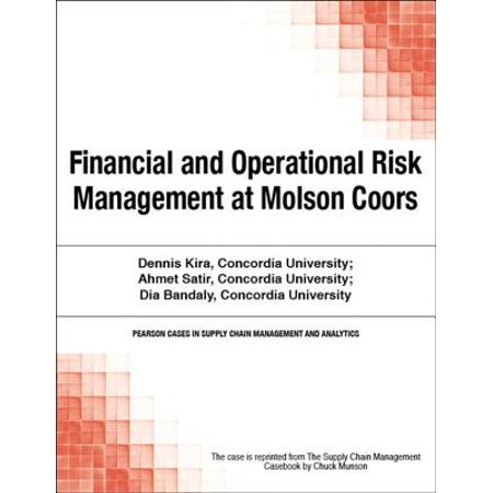 Financial and Operational Risk Management at Molson Coors -