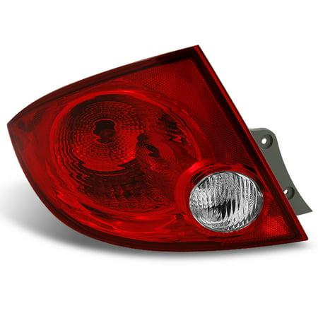 - 05-10 Cobalt 05-06 Pursuit 07-08 G5 Sedan Red Driver Left Side Tail Light Lamp