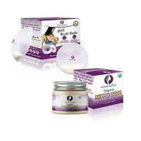 Breast Feeding Essentials KIT| Breast Shell & Milk Catcher + Nipple Cream for Breastfeeding Relief