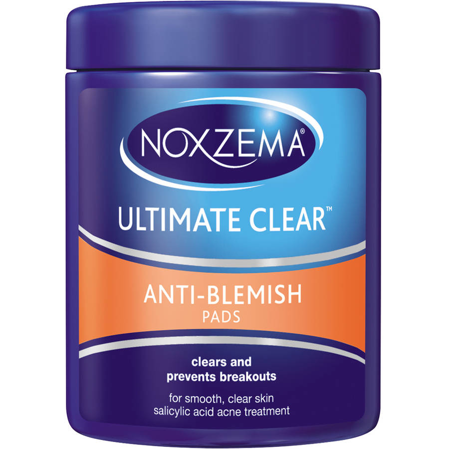 Noxzema Ultimate Clear Anti Blemish Pads, 90 count