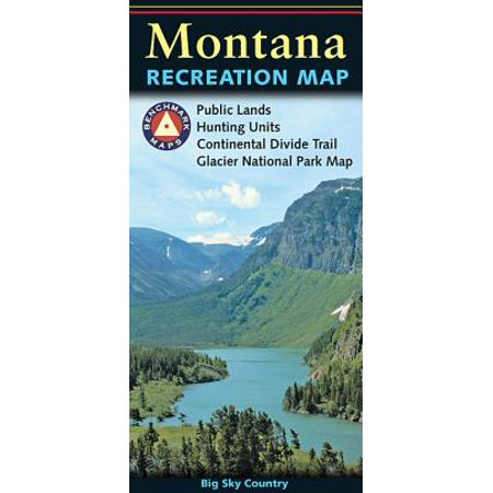 Benchmark maps: montana: montana recreation map (other): 9780783499079 ()