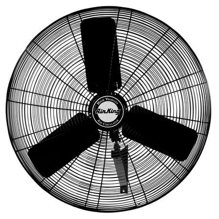 Air King AK-9025 24 Inch Blade Indoor Industrial Oscillating Wall Mount Fan Air King Wall Mount Fan