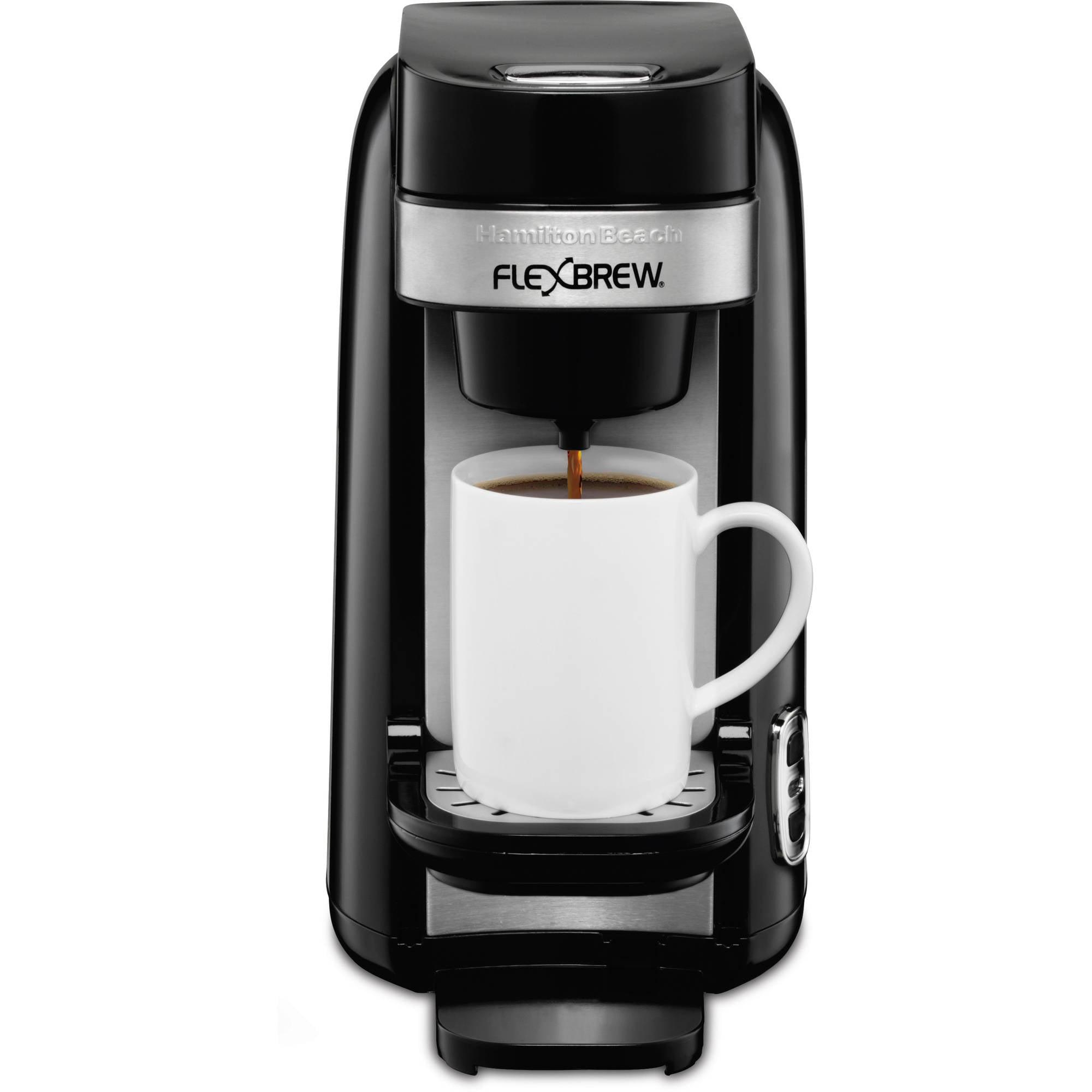 Hamilton Beach FlexBrew Single-Serve Coffee Maker | Model# 49997 ...