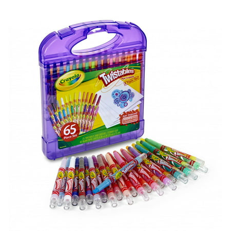 Crayola Pencil Design and Sketch Kit with 65 Pieces