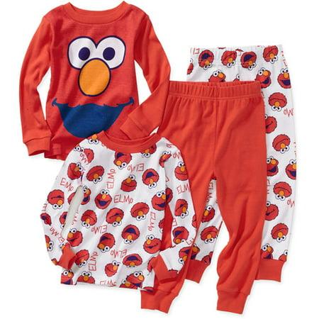 Baby Boys' Character Cotton Pajamas, 2 Sets - Walmart.com