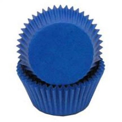 Blue Cupcake Liners - 50 Count - National Cake Supply (Blue Cupcake Liners)