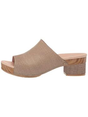 Dansko Womens Maci Leather Open Toe Mules