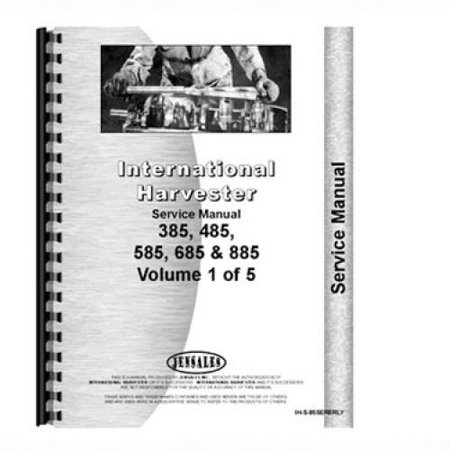 Service Manual - 485, 585, 685, 885, New, Case IH, International