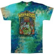 Woodstock Men's Woodstock Music Festival Tie Dye T-shirt XX-Large Multi