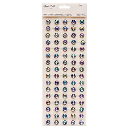 New 381872  Angels Craft Stone Sticker Clear (12-Pack) School Supplies Cheap Wholesale Discount Bulk Stationery School Supplies Beverages