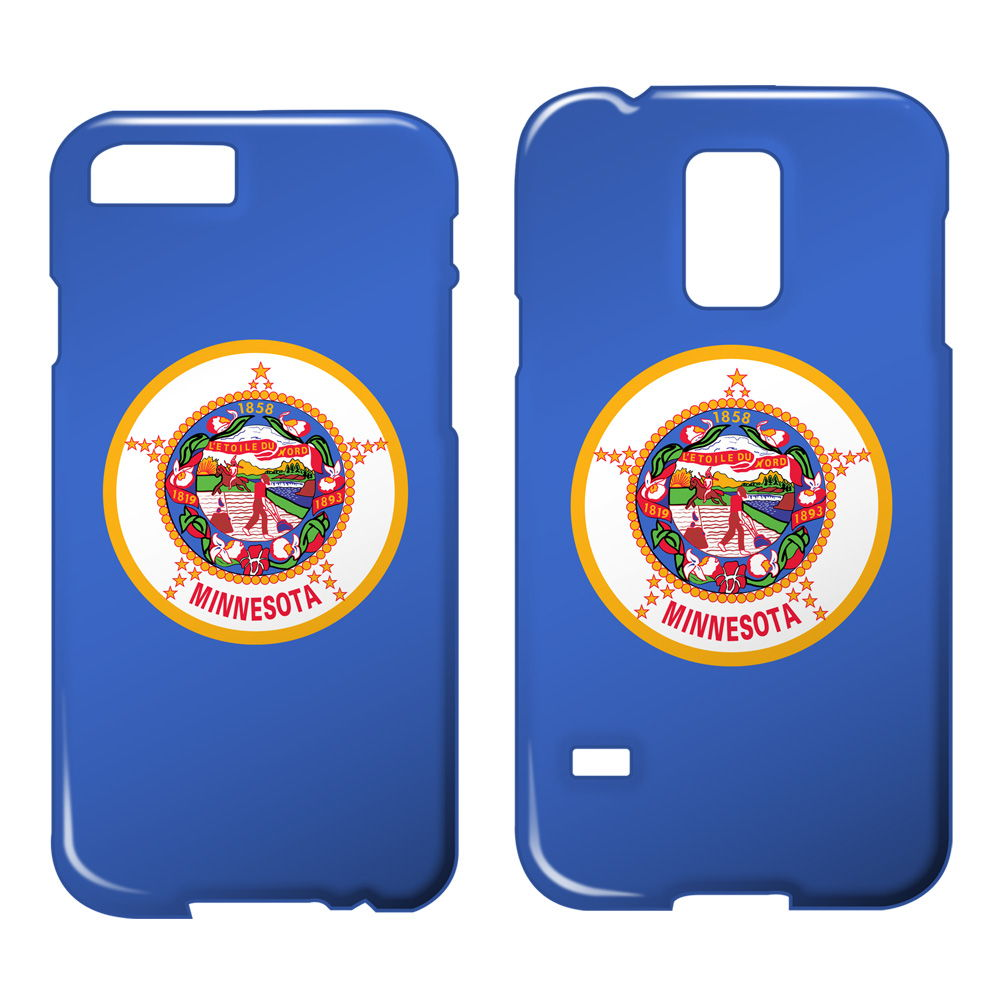 Minnesota Flag USA National State Flags Thin Smartphone Case-iPod Touch 5G