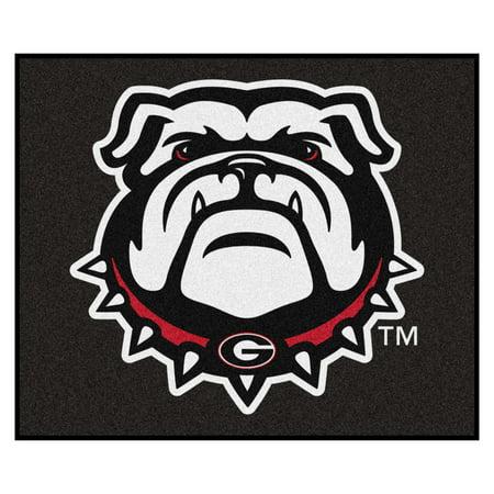 - Georgia Black New Bulldog Tailgater Rug 5'x6'