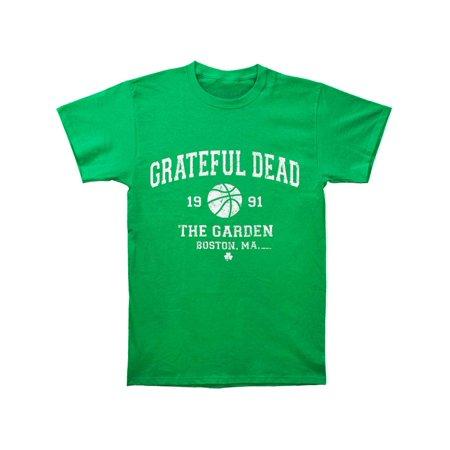 Grateful Dead Men's  Boston Garden '91 T-shirt Green