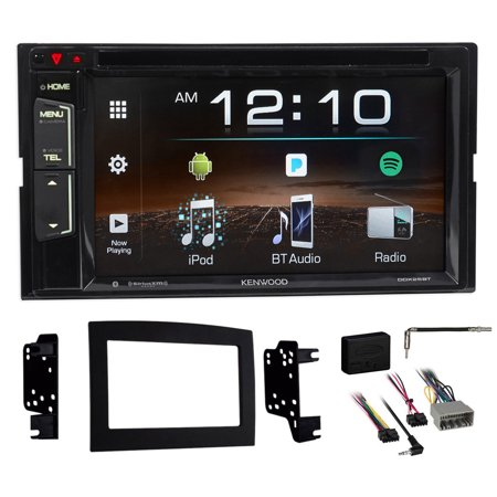Kenwood Dvd Iphone Spotify Bluetooth Receiver For 2006 2009 Dodge Ram 2500 3500