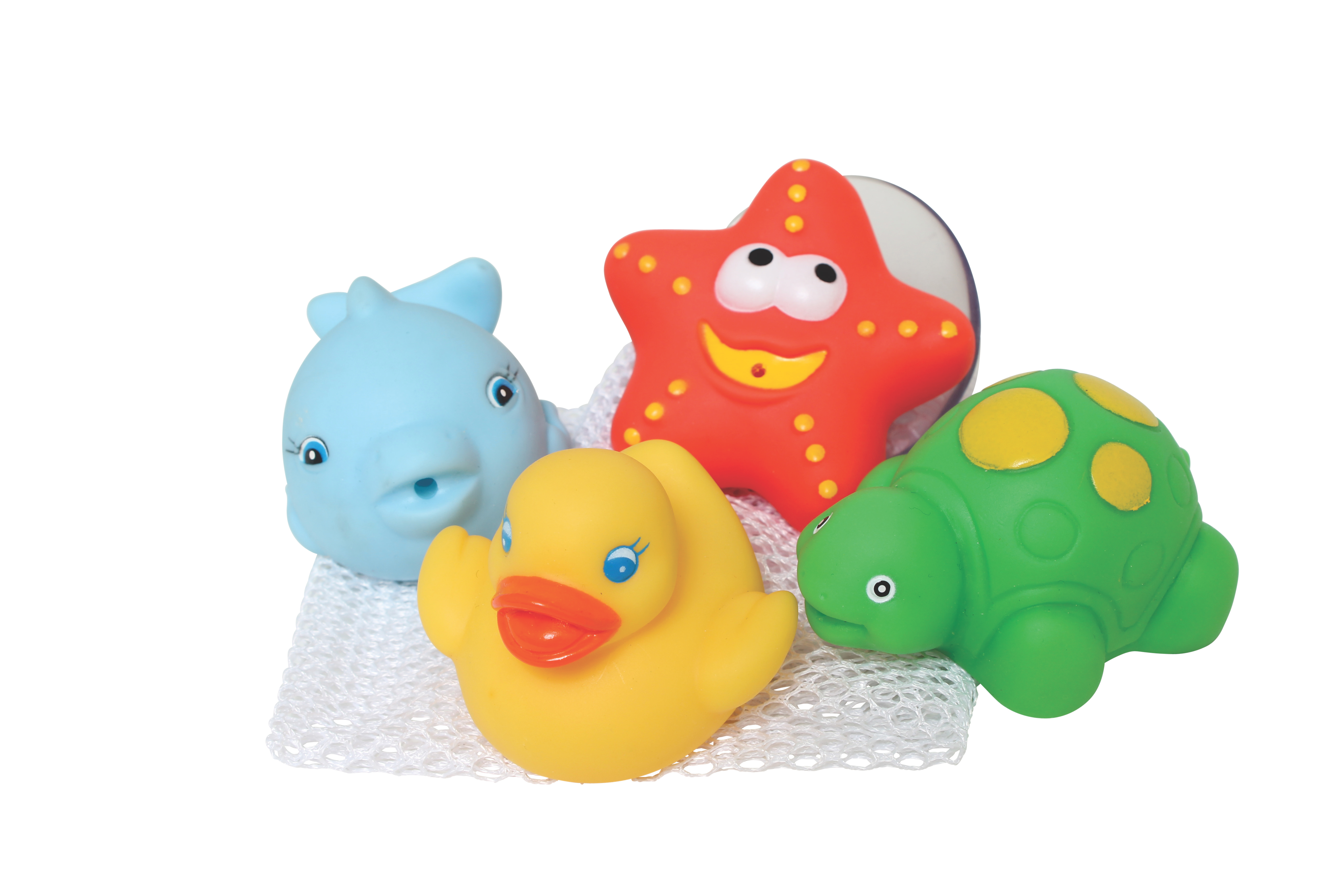 Playgro Bath Squirtees and Storage Set by Playgro