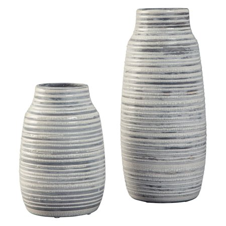 Signature Design by Ashley Donaver Ceramic Table Vases - Set of 2 ()