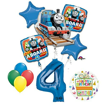 The Ultimate Thomas Train Engine 4th Birthday Party Supplies